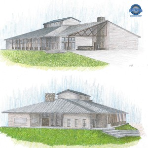 Proposed rendering of our new dining hall.